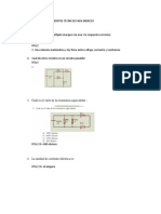 Evaluacion de Conocimientos Tecnicos Para Ingreso Electricidad y Electronica