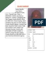 Felony Warrant