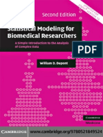 Statistical Modelling for Biomedical Researchers