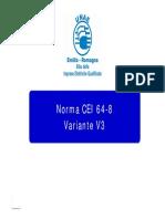 Cei 64-8 v3 - Relazione Unae
