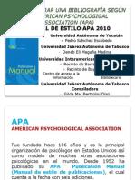 TALLER APA 6a Edic Alumnos