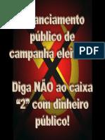 Financiamento público de campanha eleitoral