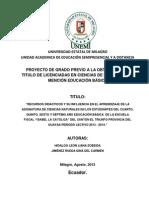 Tesis Recursos Didácticos Hidalgo y Jimenez