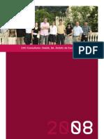 Memoria Proyectos Consultoría CHC 2008