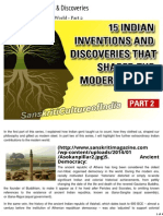 15 Indian Inventions & Discoveries That Shaped the Modern World - Part 2