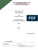 IDML-206 Tecnicas de Preparacion de Materiales