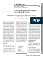 A New Ferritic-Martensitic Stainless Steel