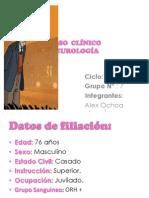 CASO  CLÍNICO Enero 2014