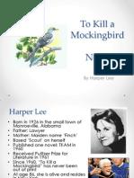 To Kill a Mockingbird Notes