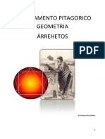 Insegnamento Pitagorico IV  - Geometria - Árrethos