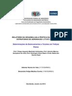 Relatório - Estruturas I UFU - Treliças