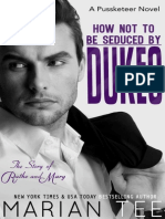 How Not to Be Seduced by Dukes - Marian Tee
