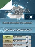 Desarrollo Adolescente Piagetana
