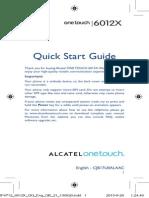 Alcatel One Touch Idol Mini - AlcatelOTIdolMiniQuickUserGuide