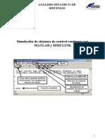 Simulación de sistemas de control continuos con Matlab y simulink13