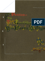 A Petition to The Governor Hon. Martin H. Glynn. From the Inmates of Sing-Sing Prison