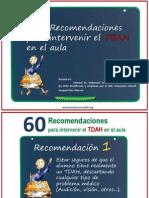 60 Recomendaciones Tdah PDF