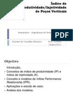 Indice de Produtividade Poço Vertical