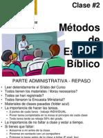 Clase02 Metodos de Est Bibl