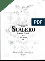 Scalero Sonata in D Minor Violin Piano
