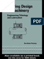 Bearing Design in Machinery [Avraham Harnoy]