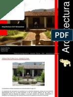Arquitectura Civil Venezolana