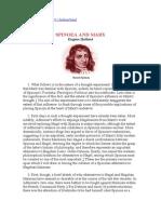 Spinoza and Marx