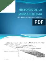 Farmacologia Su Historia a Traves Del Tiempo