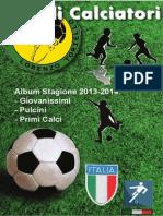 Progetto1_Album Piccoli Calciatori