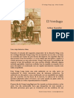 El Verdugo Wang Lung - Arthur Koestler