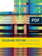 Color and Texture in Weaving BLAD