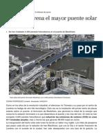 El Mayor Puente Solar Del Mundo en Londres