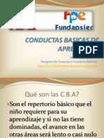 Conductas Basicas de Aprendizaje Adolfo Ruiz