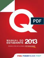 Manual Do Estudante FMU-2013