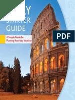 italy starter guide
