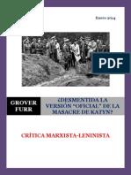 Furr - Desmentida la Versión 'Oficial' de la Masacre de Katyn (CM-L, 2013)