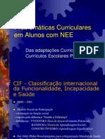 Adaptações Curriculares - Currículo Escolar Próprio