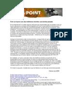 MMF Viewpoint Egg Hoax Feb 2008 Spanish