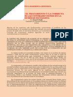Lleshi - El PTA sobre el Tratamiento y la Correcta Solución de las Contradicciones en la Sociedad Socialista (CM-L, 1984)