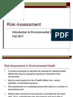 BAsic Tox Risk Assessment Part 2 Fall 20