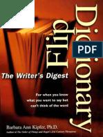 Writer\'s Digest Flip Dictionary-Mantesh