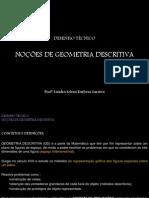 NOÇÕES DE Geometria Descritiva