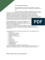 Clima Organizacional y Los Factores Que Lo Determinan