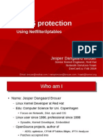 Iptables DDoS protection