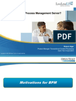 What is Business Process Management Server
