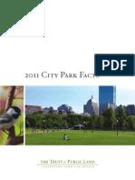 2011 City Park Facts