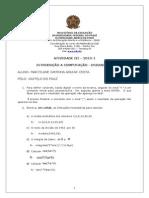 ATIVIDADE III -INT COMPUTAÇÃO - 2013-1 (2)