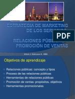 Marketing del Turismo - Relaciones Públicas y Promoción de Ventas
