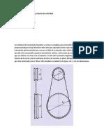 Mecanismo Polea Correa