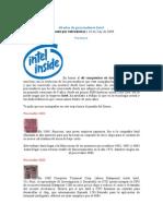 Historia de La Intel